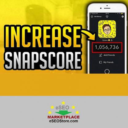 Buy Snapchat Score