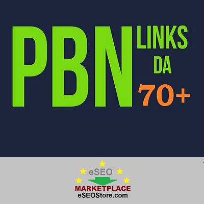 High quality PBN backlinks