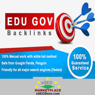 Buy Edu Gov backlinks