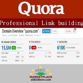 Quora answer backlinks