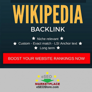 Buy strong wikipedia backlinks